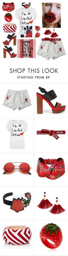 """Summertime Edition"" by yournightnurse ❤ liked on Polyvore featuring Michael Kors, WearAll, Dsquared2, Gucci, WithChic, Shashi, Mola SaSa, Nach and plus size clothing"