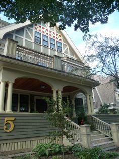 George T. Howard house on Westwood Road