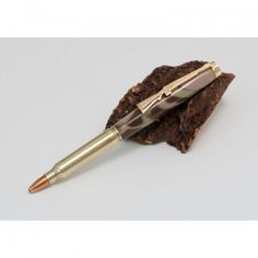 This pen is made from a real 5.56mm NATO round that is commercially known as 223 Remington  and is the modern infantryman