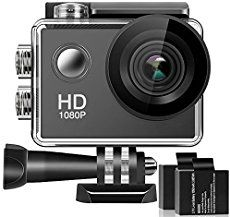 Action Camera Underwater 1080P HD Waterproof Sports Cam Wide Angle Lens $90