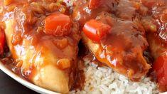 5-Ingredient Slow Cooker Hawaiian Chicken