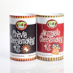 Chevre And Mozzarella DIY Kits
