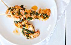 Sriracha-Buttered Shrimp - Bon Appétit