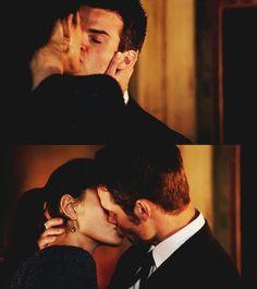 Elijah & Hayley THE ORIGINALS KISS
