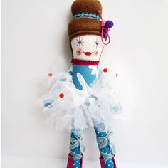 \ Fabric doll,\