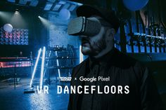 In collaboration with Google Pixel & Daydream we have built the first virtual dancefloor experience,  'VR Dancefloors: Techno in Berlin'. A groundbreaking experiment in the world of virtual reality. Explore here.