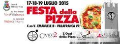 A Villafranca di Verona dal 17 al 19 luglio 2015 si svolge la Festa della Pizza @gardaconcierge