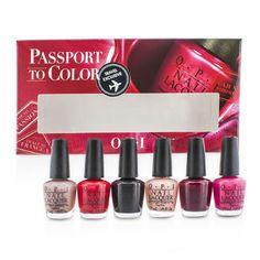 O.P.I Passport To Colors Mini Set - Makeup - StrawberryNET.com (USA)