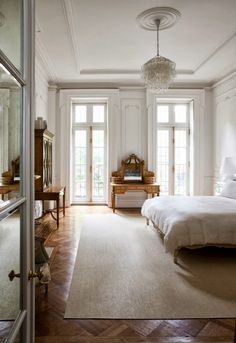 Home Interior Inspiration .Home Interior Inspiration Plaster Ceiling Design, Design Living Room, Design Bedroom, Living Rooms, House Rooms, Parisian Apartment, Paris Apartments, Luxury Apartments, Paris Apartment Interiors
