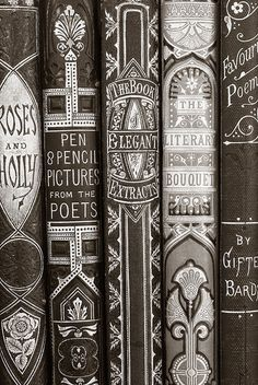 Publications & covers / aoneal: Old books 1 (by IainSarjeant) I love books. Old Books, Antique Books, Vintage Books, Vintage Type, Vintage Library, Vintage Graphic, Vintage Stuff, Vintage Posters, Vintage Black