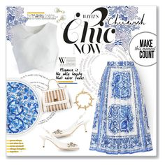 """What's Chic Now - Chicwish"" by violetta-valery ❤ liked on Polyvore featuring Dolce&Gabbana, Chicwish and Joomi Lim"