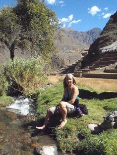 Dr. Carol Parker in Peru....