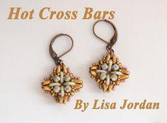 Deep Thoughts by Jill Handy: HOT CROSS BARS - Bracelet Pattern