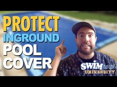 How to Protect Your Inground Pool Winter Cover - YouTube