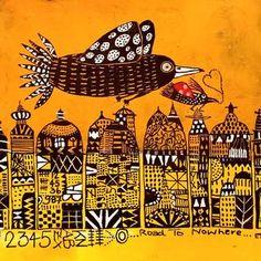 Collage, Graphic Illustration, Photo Art, Birds, Photo And Video, Paper, Album Photos, Zentangles, Mixed Media