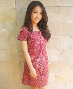Signature Cut Dress Rosette Pink