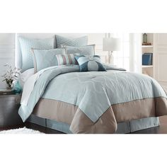 FREE SHIPPING! Shop Wayfair for Amrapur Overseas Inc. Tropez 8 Piece Comforter Set - Great Deals on all Bed & Bath products with the best selection to choose from!