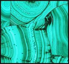 Malachite Tile. Only in my dreams...