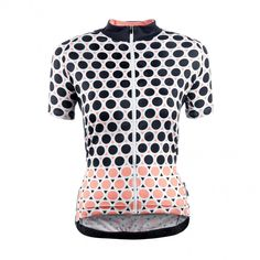 Chapeau Women Short Sleeve Jersey Madeleine Geo Polka The most stylish ladies cycling jerseys we've seen in a long time! Loving the Geometric pattern   Cyclechic
