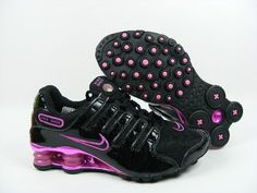 Nike shock! I love these but with no pink, a different color please