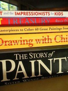Books for teaching art from Harmony Art