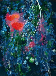 Poppies - Eyvind Earle, 1976