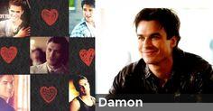 Damon | Who is your Vampire Diaries Boyfriend?