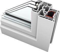 Kv 440 home pure pvc alu w internorm internorm pvc for Internorm fenster