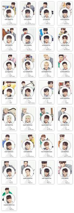 Produce101 Season2  Wanna One Produce 101 Season 2, Group Pictures, Bts And Exo, Seungri, Vixx, Got7, Seventeen, My Idol, Bae