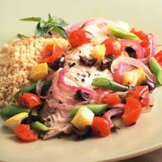 Tilapia & Summer Vegetable Packets Recipe | Food | Disney Family.com