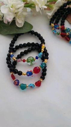 Resin Jewelry, Gemstone Jewelry, Beaded Jewelry, Handmade Jewelry, Beaded Necklace, Handmade Items, Bracelet Set, Bracelet Making, Fashion Shops