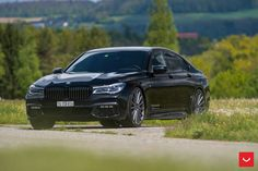 BMW 7 Series Upgraded With Some Gorgeous Vossen Wheels - http://www.bmwblog.com/2017/06/09/bmw-7-series-upgraded-with-some-gorgeous-vossen-wheels/