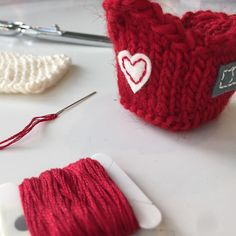 My tiny red house is almost done!  First it needed a little heart stitched on the back.  That's a reminder that love is the most important thing.  #knitlove #iloveknitting #loveknitting #knittersofinstagram #knitstagram #knittinglittlehouse #littlehouseknitting #tinyhouse #felt #feltapplique #instaknit #makersmovement #makersgonnamake #happyknits #handmadelove #workinprogress #valentinesday #heart #stitching #3dknitting by fiftyfourtenstudio