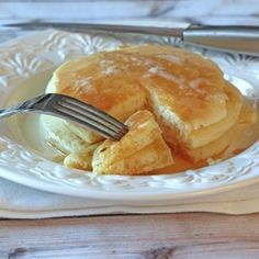 Buttermilk Pancakes recipe I love this recipe! Its sooo good!....