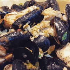 Mussels and Cod ready :)