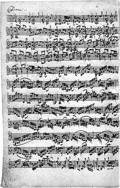 J.S Bach: Chaconne (in D) - from Partita No. 2, BWV 1004. A most amazing piece of music
