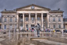 Railway Station, St Georges Square, Huddersfield Grade I Listed bullding