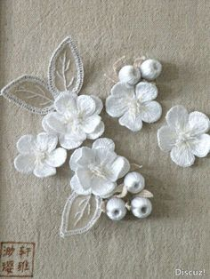 Embroidery 3D 35 inspiring images of one of the main trends for 2015 2016 / Fashion Party Part 1