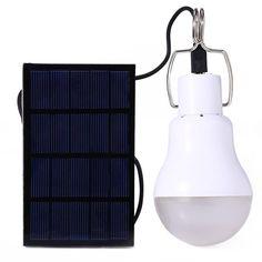 Solar Powered Portable Led Bulb Lamp.