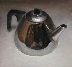 Still life with small teapot, 13x13cm, 2011.