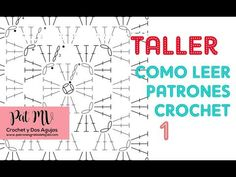 Cómo LEER PATRONES CROCHET ✅ - YouTube Tapestry Crochet, Crochet Videos, Stitch, Youtube, Crafts, Facebook, Google, Diy, Design