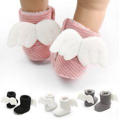 09ef90c0a Suave bebé botines de invierno calcetines calientes recién nacidos regalos  lindo cuna Zapatos Niños pequeños zapatos