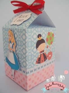 Caixa Milk Alice no País das maravilhas