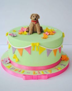 WAFFLE THE WONDER DOG Good Evening You Lovely Lot Another Busy Week For Me And 1st Out Was This Sweet Birthday Cake A 2nd