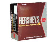 Hersheys Milk Chocolate with Almonds - King Size