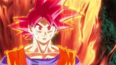 """We know that when Goku became Super Saiyan God his body wasn't the only thing that changed. His aura is a God's energy and not made up of Ki. Remember Beerus said, """"It seems as though what you beings use called 'Ki' isn't effective on deities is it not?"""" Meaning the God energy must exist on a different realm but is more powerful. What can we call this new energy using one word that sounds Godly? #JigokuLamb"""
