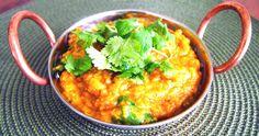 Sweet Potato, Vegetable & Red Lentil Dhal