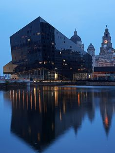 Image from Mann Island by Broadway Malyan in Liverpool, United Kingdom. Image from Mann Island by Broadway Malyan in Liverpool, United Kingdom. Image from Mann Island by Broadway Malyan in Liverpool, United Kingdom. Liverpool Life, Liverpool Waterfront, Liverpool City Centre, Liverpool England, Liverpool Skyline, Liverpool History, British Architecture, School Architecture, Sustainable Architecture