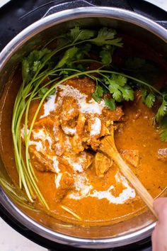 Paleo Instant Pot Butter Chicken w/ gluten-free dairy-free coconut milk cream. This Keto & Instant Pot Butter Chicken recipe is easy and cook time. Use chicken thighs or breasts for the most easy flavorful Paleo Instant Pot recipe. Instant Pot Butter Chicken Recipe, Sauce For Chicken, Chicken Recipes, Baked Chicken, Coconut Milk Chicken, Teriyaki Chicken, Keto Chicken, Healthy Chicken, Healthy Recipes