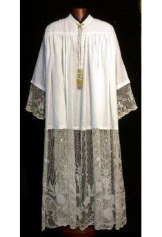 Textiles, Bobbin Lace, Cloak, Priest, Short Sleeve Dresses, Tunic Tops, Boys, Ornaments, Vintage